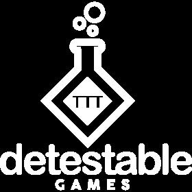 Logo Detestable Games