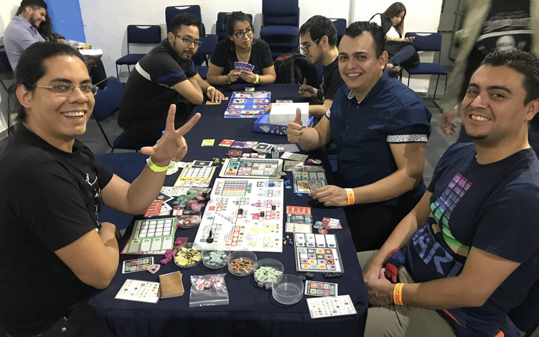 Mega XP: Convención de juegos de mesa que suma